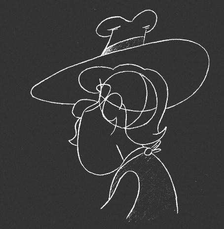 Drawing a Hairdo, Hat, Moustache and Beard for Animation Character - 4