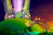 "3D graphics and special effects (SFX) to a cartoons for the theater ""Zolotoe Kolzo"" - 50"