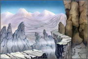 "Backgrounds for feature length cartoon ""In Alhoks' country"" - 11"