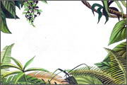 "Backgrounds for feature length cartoon ""In Alhoks' country"" - 12"