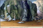 "Backgrounds for feature length cartoon ""In Alhoks' country"" - 13"