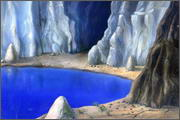 "Backgrounds for feature length cartoon ""In Alhoks' country"" - 15"