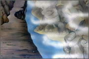 "Backgrounds for feature length cartoon ""In Alhoks' country"" - 21"