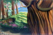 "Backgrounds for feature length cartoon ""In Alhoks' country"" - 23"