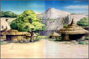 "Backgrounds for feature length cartoon ""In Alhoks' country"" - 3"