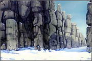 "Backgrounds for feature length cartoon ""In Alhoks' country"" - 8"