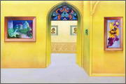 "Backgrounds for feature length cartoon ""In Alhoks' country"" - 9"