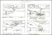 "Storyboard for animation ""Humorous rhymes of sadist"" - 14"